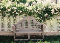 дрвена декоративна ограда 4