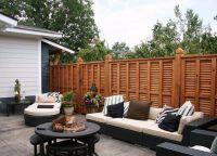 дрвена декоративна ограда 5