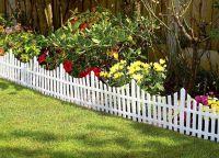 дрвена декоративна ограда 9