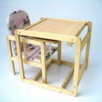 stolik dziecięcy z transformatorem krzesełkowym