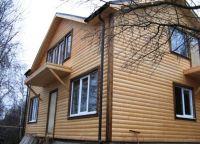 Дрвена блок кућа3