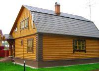 Дрвени блок кућа9