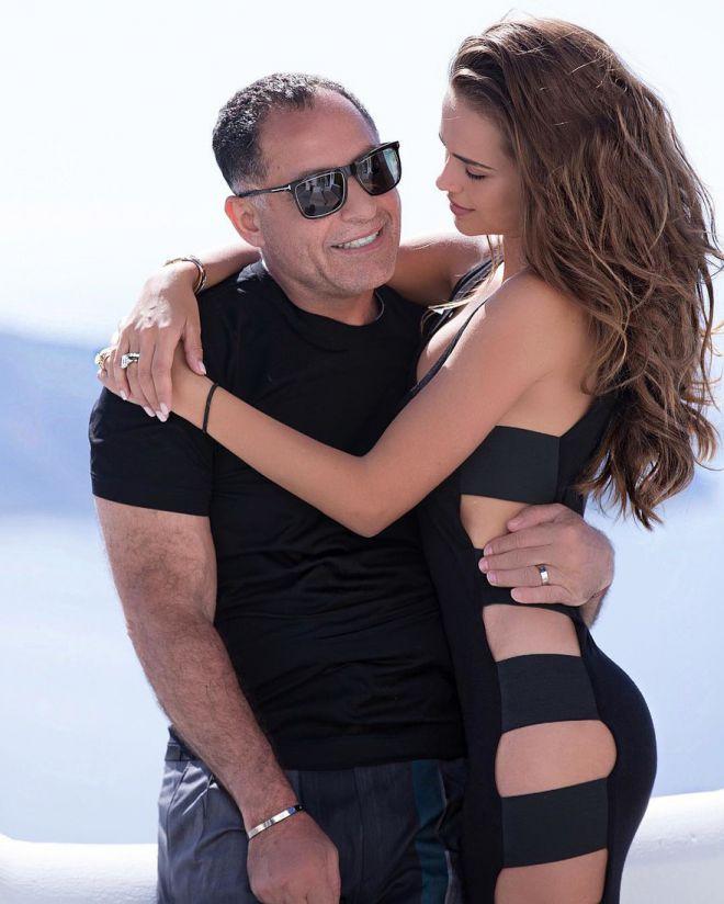 Ксения Дели со своим мужем египетским миллиардером