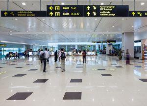 Аэропорт внутри