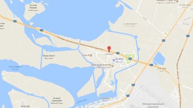 Остров Яс на карте