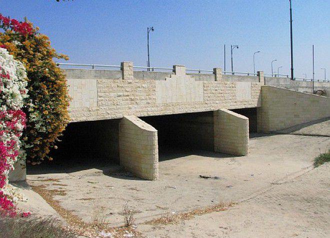 Новый мост в городе Явне