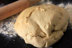 Рецепт за пите за тесто за крушку у хлебу