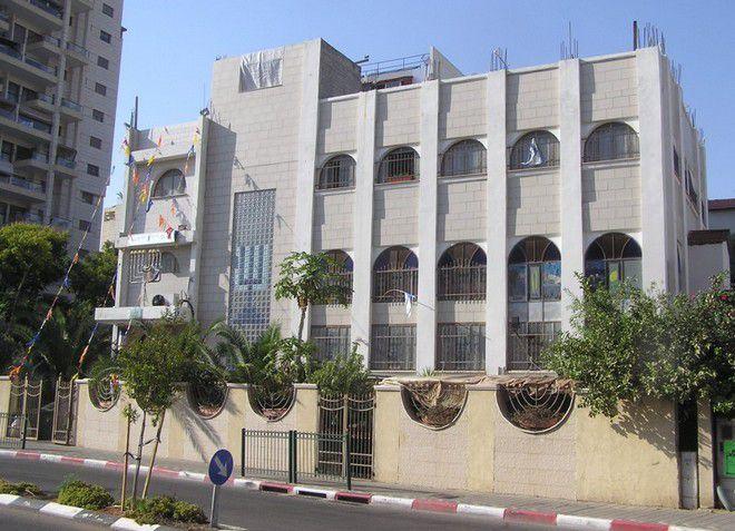Архитектура в Йехуд-Моноссон