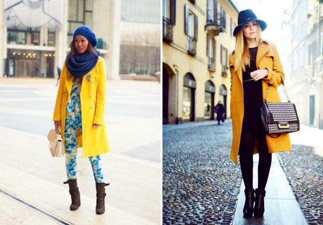 nasadka na żółty płaszcz