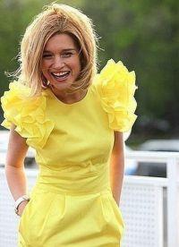 žuta haljina poput brade 2