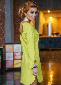 žuta haljina poput brade 6