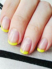 žuta manikura 2014 1