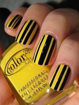 žuta manikura 2014. 4