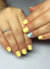 žuta manikura 2015. 4