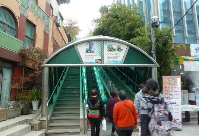 Эскалатор на гору