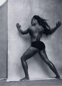 Спортсменка Серена Уильямс позировала в трусах