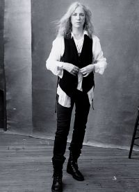Крёстная мама панк-рока Патти Смит