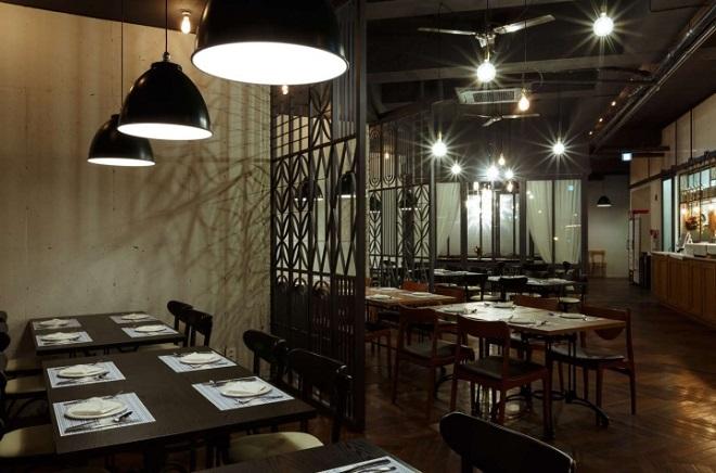 Один из ресторанов Йонъина