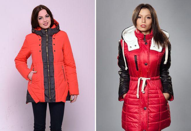 зимние женские молодежные куртки
