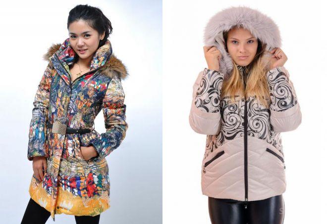 молодежные зимние куртки 2018