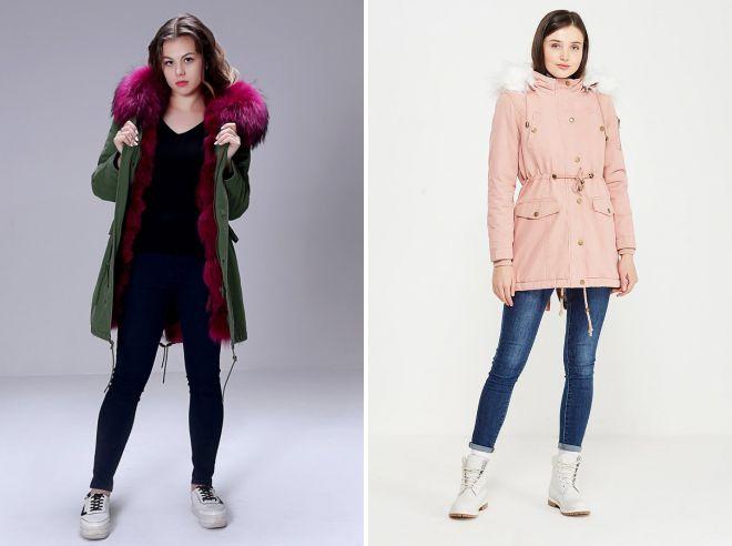 молодежные куртки 2018