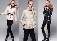 zimní zimní bundy pro dívky1