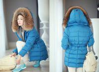 zimní zimní bundy pro dívky2