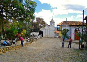 Рядом со старинной церковью