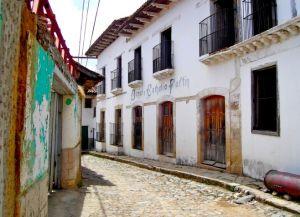Дома, возведенные испанскими колонистами