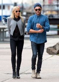Зак Эфрон и Сэми Миро гуляют