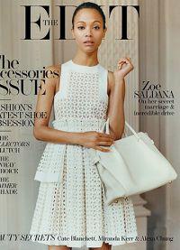 В 2014 году Зои уже появлялась на обложке The Edit