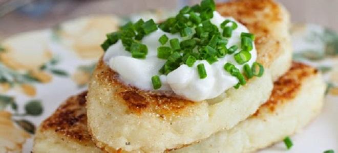 Zrazy ziemniaczane z mięsem mielonym