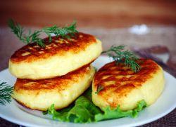 Зрни кромпир са рецептом за месо