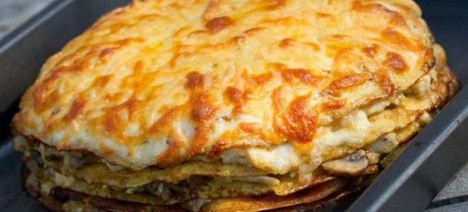 Zucchini Pancake Pie